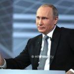 Путин кириисис ааспытын туһунан эттэ