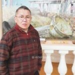 Красноярскайга олорор биир дойдулаахпыт худуоһунньук-скульптор Отур Силис